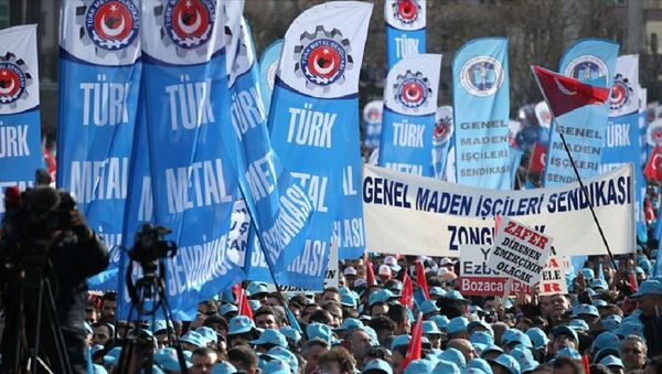 Türkiye Metal Sanayicileri Sendikası  - Sputnik Türkiye