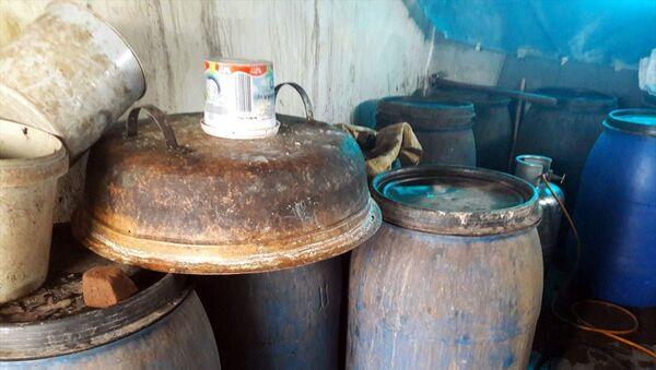 Adana'da imalathaneye dönüştürülen ev - Sputnik Türkiye