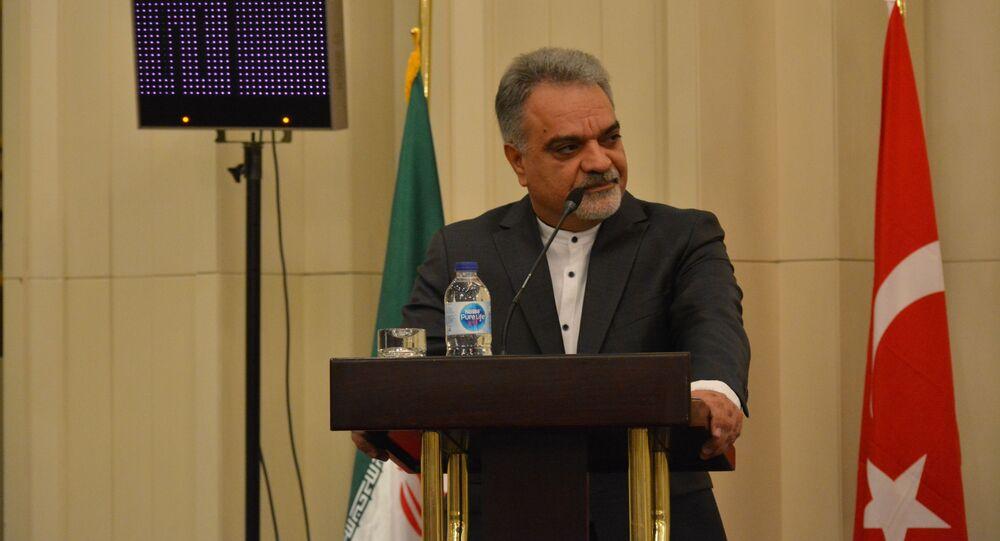 İran'ın Ankara Büyükelçisi Muhammed Farazmand