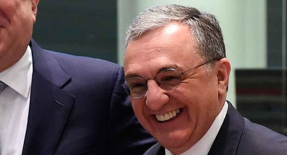 Ermenistan Dışişleri Bakanı Zograb Mnatsakanyan