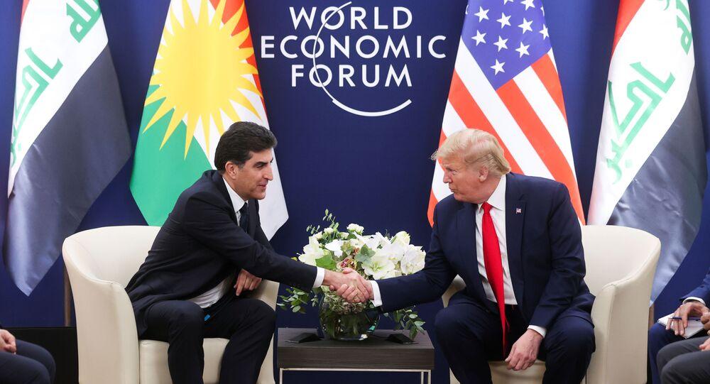 Davos'ta Donald Trump-Neçirvan Barzani görüşmesi