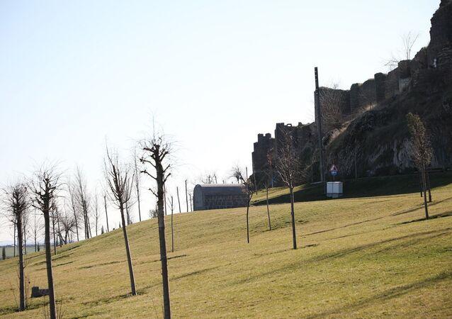 Diyarbakır'ın UNESCO koruması altındaki surların hemen dibinde Çevre ve Şehircilik Bakanlığı tarafından yapılan çalışmalar ve TOKİ'nin ihalesiyle 6 ayda tamamlanan 'Millet Bahçesi' projesi kapsamında, tarihi sur bedenine balkon yapıldı.