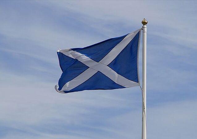 İskoçya Bayrağı