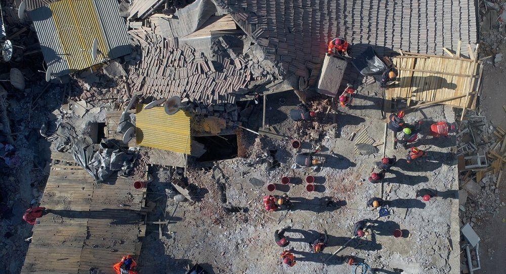 Elazığ deprem bölgesi