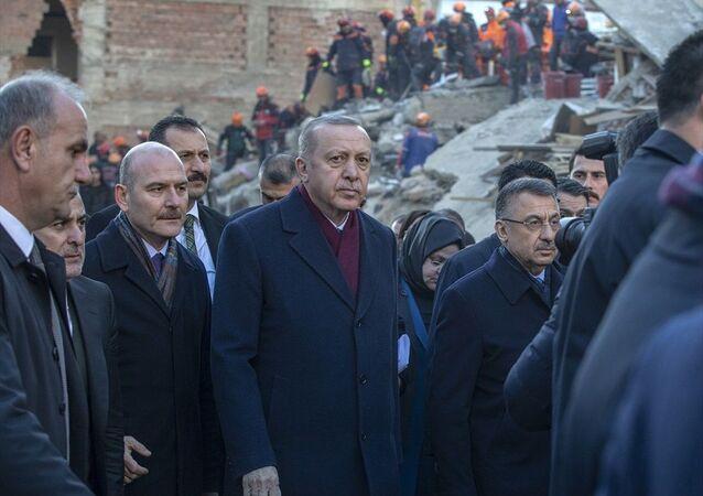 Erdoğan Elazığ'da