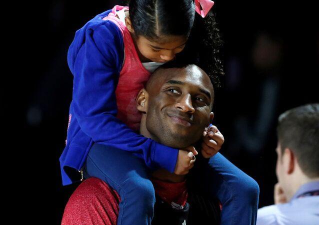 Kobe Bryant ile kızı Natalia