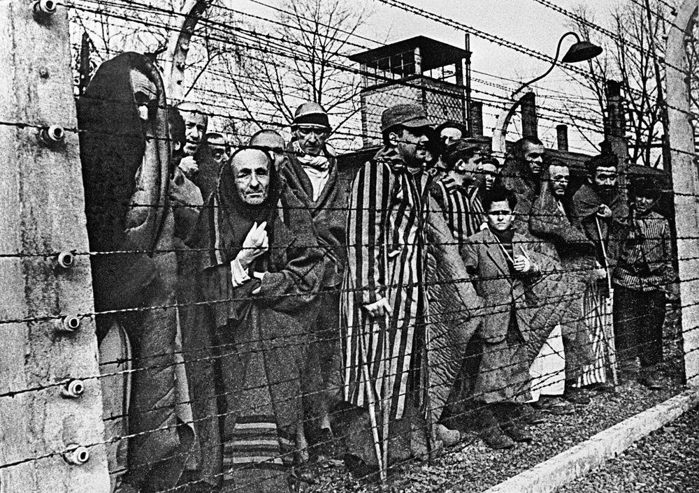 Nazilerin 'ölüm kampı' Auschwitz, 75 yıl önce kurtarıldı - Sputnik Türkiye