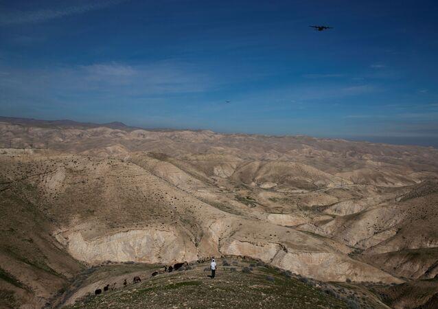Batı Şeria'daki bir Yahudi yerleşim yeri