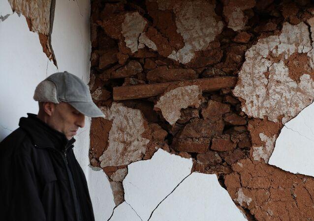 Pütürge İlçesi'ne bağlı Bölükkaya Köyü - deprem - depremzede