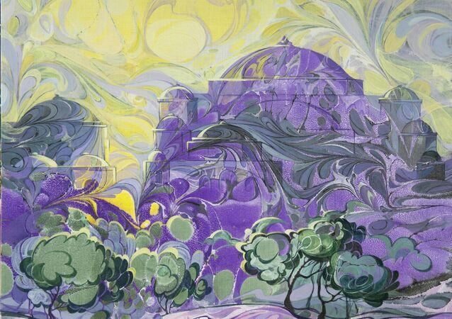 Ressam Okutan'ın Aleksandr Puşkin'in Kars ve Erzurum yolculuklarından esinlenerek yaptığı özgün tablo ve desenlerinin oluşturduğu Erzurum ve Kars - Rus Şairin Türk Masalı sergisinin asıl amacı, mimari ve kültürel zenginliğiyle bilinen Türkiye'nin bu bölgesini tanıtmak.