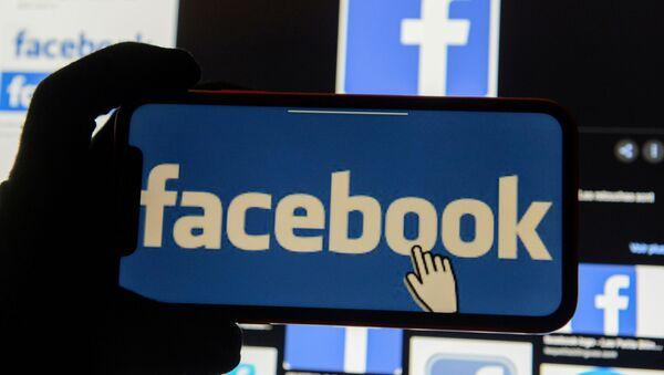 Facebook logo  - Sputnik Türkiye