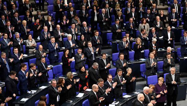 Nazi kurbanları, Federal Almanya Meclisi'nde anıldı - Sputnik Türkiye