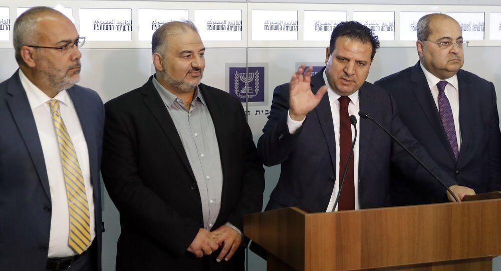 İsrail parlamentosu Birleşik Arap Listesi'den milletvekili Ayman Odeh