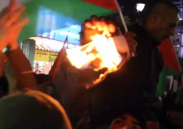 Filistin'de 'Yüzyılın Anlaşması' protestosu