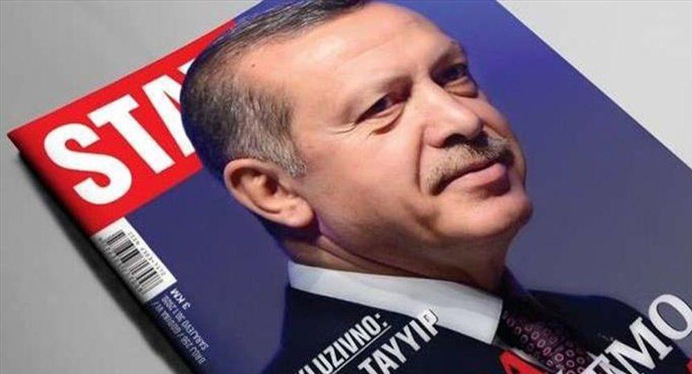 Cumhurbaşkanı Erdoğan Stav dergisi