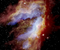SOFIA Teleskobu tarafından çekilen Kuğu Bulutsusu'nun görüntüsü.