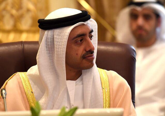 Birleşik Arap Emirlikleri (BAE) Dışişleri Bakanı Abdullah bin Zayid