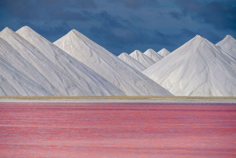 Yarışmada ikinci seçilen Hollandalı fotoğrafçı Sander Grefte'nin Karayip adası Bonaire görüntüsü.