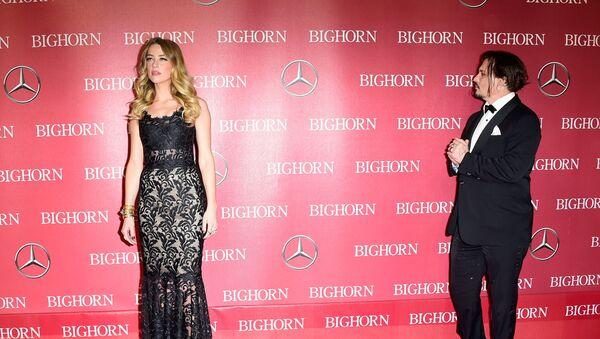 Johnny Depp-Amber Heard - Sputnik Türkiye