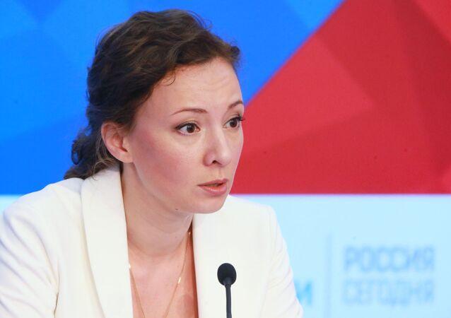 Rusya Çocuk Hakları Ombudsmanı  Anna Kuznetsova