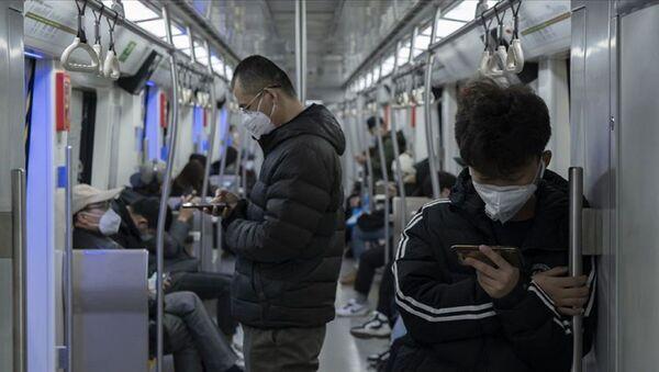 Çin-toplu taşıma-koronavirüs - Sputnik Türkiye