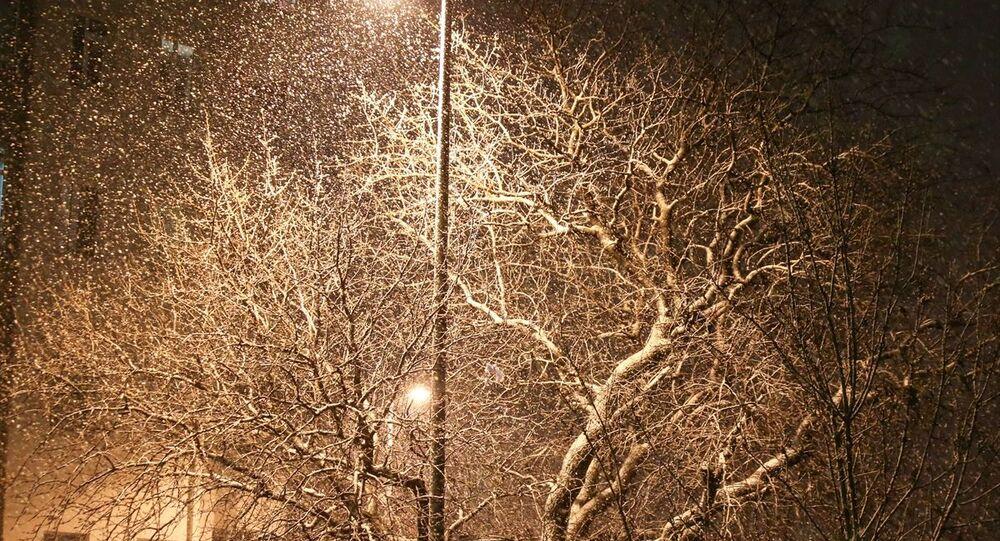İstanbul'da kar yağışı Üsküdar'da da etkili oldu.