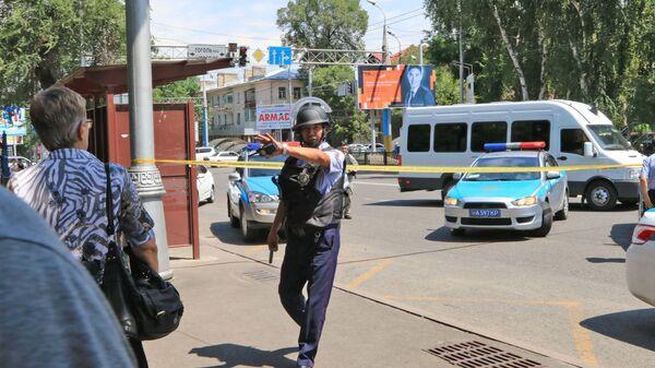 Kazakistan  - polis - Sputnik Türkiye