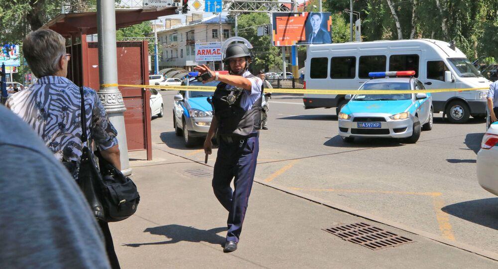 Kazakistan  - polis
