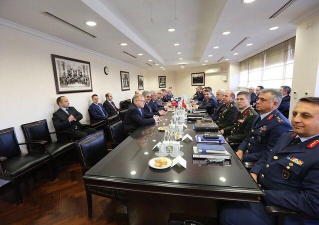 Rus heyetin Dışişleri Bakanlığı'ndaki temasları tamamlandı
