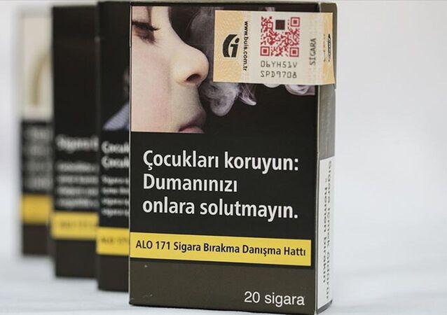 Sigarada düz paket uygulaması