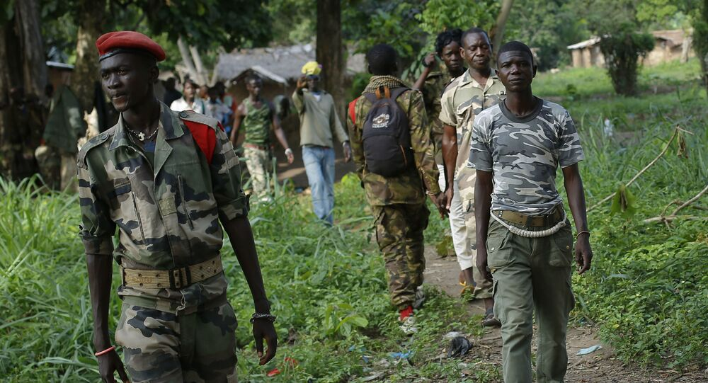 OrtaAfrikaCumhuriyeti'nde (OAC), silahlı Hristiyan anti-Balaka grubu