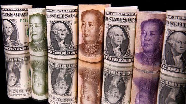 Yuan- Dolar- Çin- ABD - Sputnik Türkiye