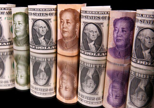 Çin yuanı ve ABD doları