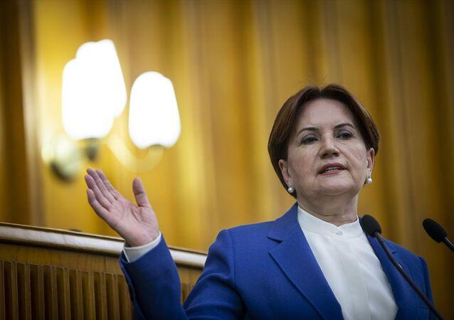 İYİ Parti Genel Başkanı Meral Akşener, partisinin TBMM'deki grup toplantısına katılarak konuşma yaptı.