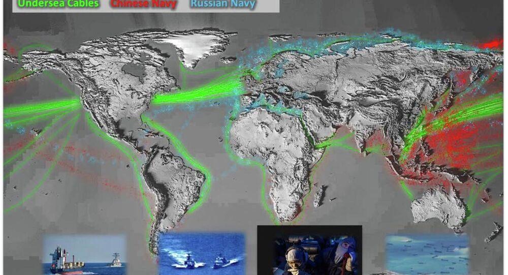Pentagon, Rus donanmasının aktivitelerini gösteren harita yayınladı