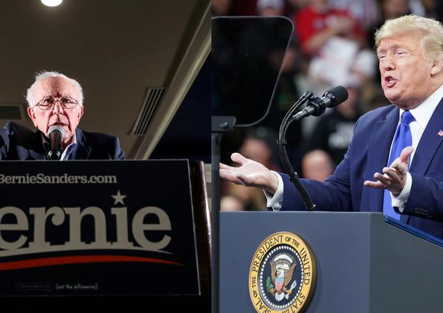 Bernie Sanders - Donald Trump