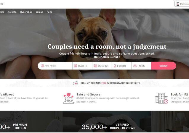 Hindistan'da StayUncle uygulamasının Çiftlerin yargıya değil odaya ihtiyacı var sloganı