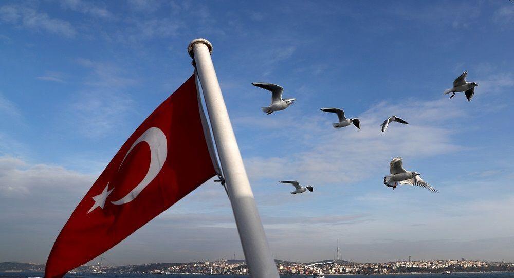 İstanbul Türk bayrağı