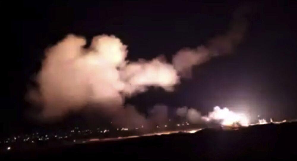 Şam yakınlarında hava saldırısı - 25 Aralık 2018