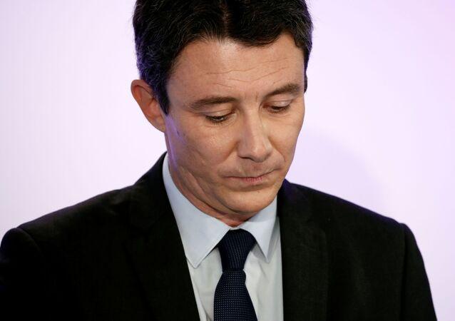 Benjamin Griveaux, 5 Şubat 2020'deki bir basın toplantısında