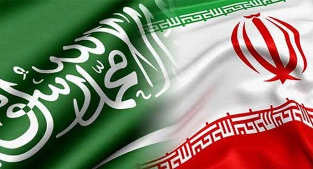 Suudi Arabistan - İran bayrak