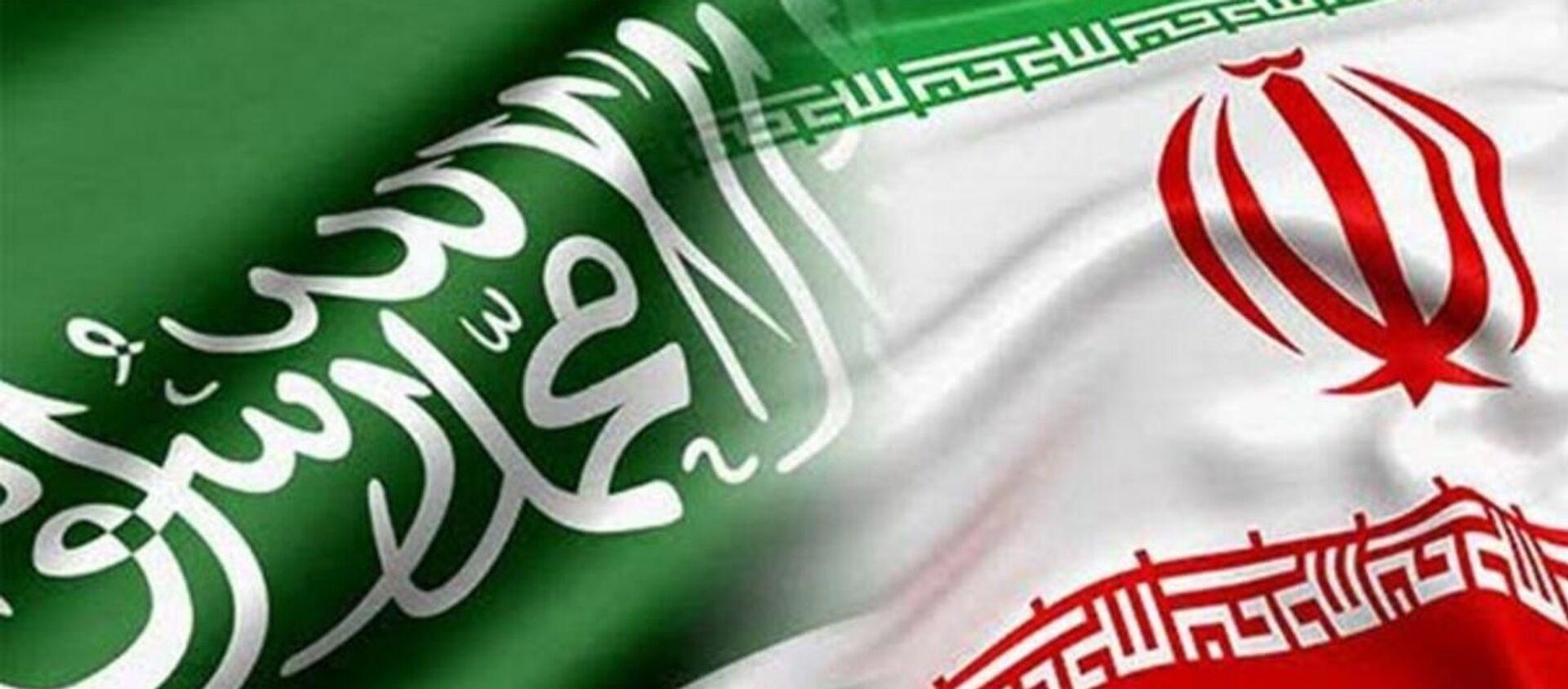 Suudi Arabistan - İran bayrak - Sputnik Türkiye, 1920, 18.04.2021