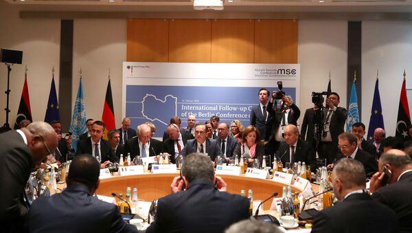 Münih Güvenlik Konferansı'nın son gününde Libya krizi masaya yatırıldı. - Sputnik Türkiye