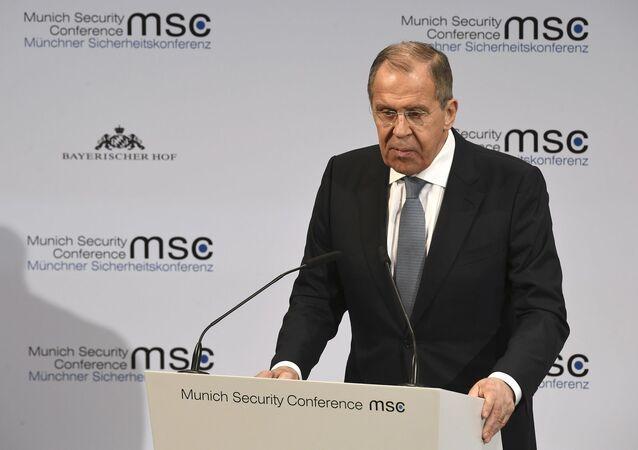 Sergey Lavrov'dan Münih Güvenlik Konferansı'nda açıklama