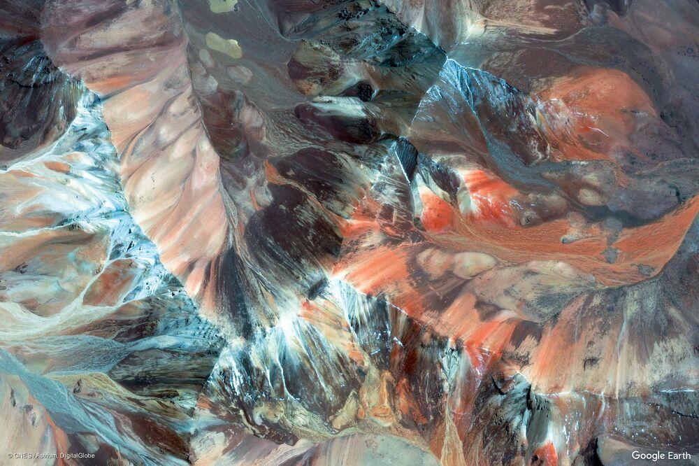 Şili'nin Parinacota bölgesi