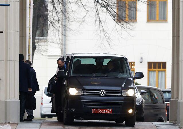 Türk ve Rus heyetlerinin Suriye'nin İdlib Gerginliği Azaltma Bölgesi'ndeki durumu ele almak amacıyla Moskova'da yaptığı görüşmeler