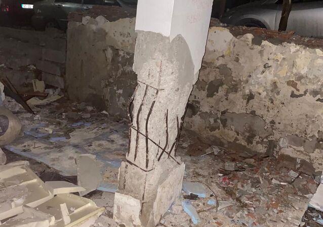 Bahçelievler'de çöken binanın bir gün önce çekilen fotoğrafları ortaya çıktı
