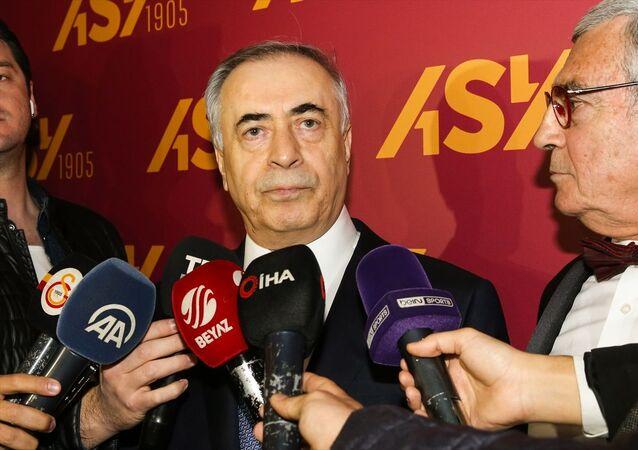 Galatasaray Kulübü Başkanı Mustafa Cengiz