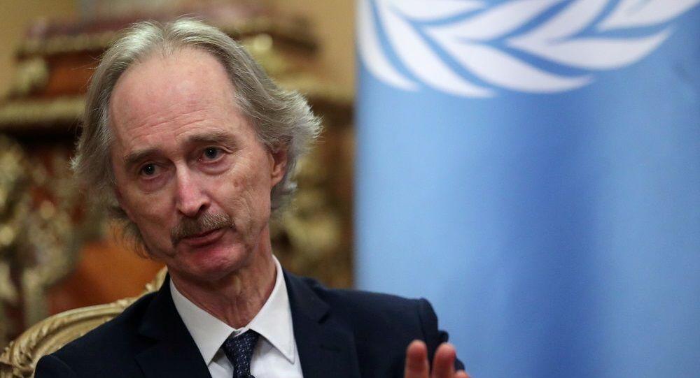 Birleşmiş Milletler (BM) Suriye Özel Temsilcisi Geir Pedersen
