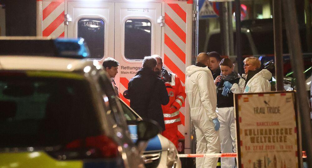 Almanya, Hanau, nargile kafeye silahlı saldırı